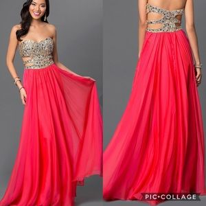 Le Femme formal dress